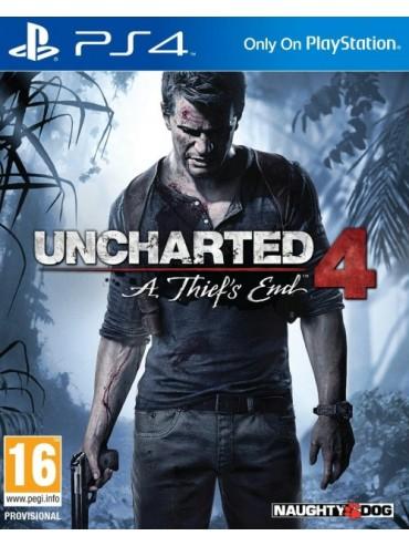 Uncharted 4 Kres Złodzieja PL (folia)
