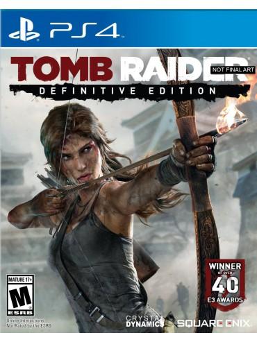 Tomb Raider Definitive Edition PL (używana) PS4/PS5