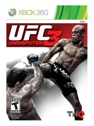 UFC Undisputed 3 ANG (używana)