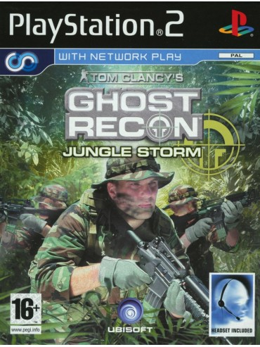 Tom Clancy's Ghost Recon Jungle Storm ANG (używana) PS2