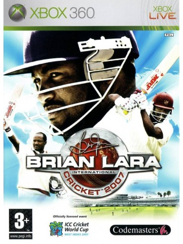 Brian Lara International Cricket 2007 ANG (używana)