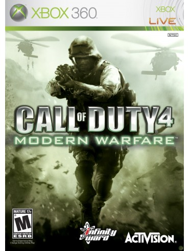 Call of Duty 4 Modern Warfare ANG (używana)