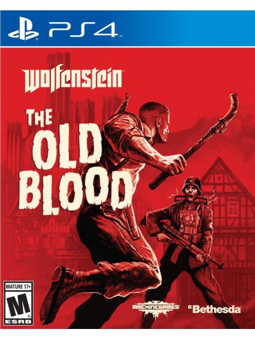 Wolfenstein The Old Blood PL (używana)