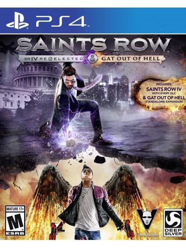 Saints Row IV Re-Elected PL (używana) PS4/PS5
