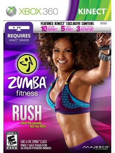 Zumba Fitness Rush KINECT ANG (używana)