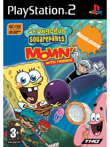 The SpongeBob SquarePants Movin' with Friends ANG (używana) PS2