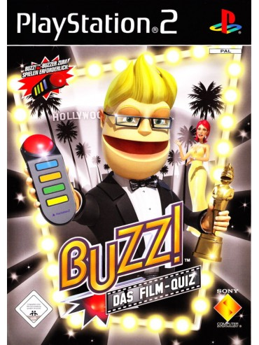 Buzz! The Hollywood Quiz ANG (używana) PS2