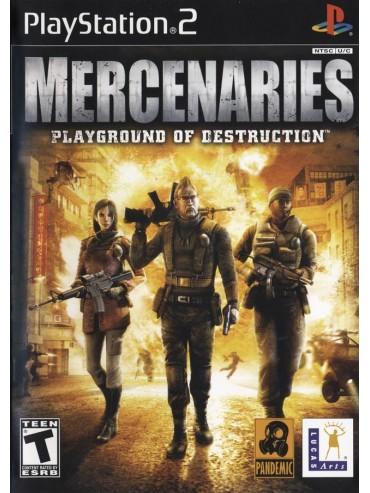 Mercenaries : Playground of Destruction ANG (używana)