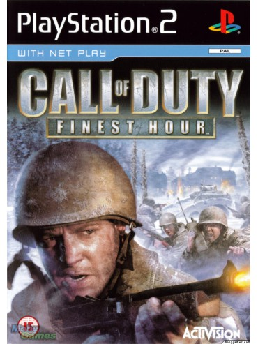Call of Duty Finest Hour ANG (używana)