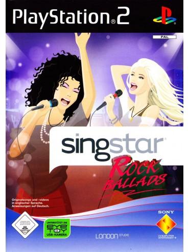SingStar Rock Ballads ANG (używana) PS2