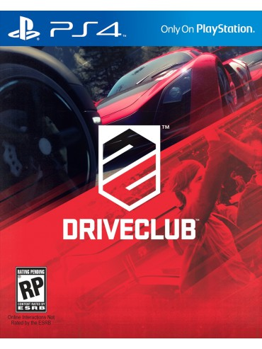 DriveClub PL (folia) PS4/PS5