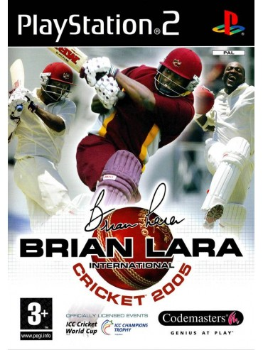 Brian Lara International Cricket 2005 ANG (używana) PS2