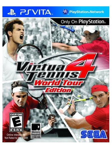 Virtua Tennis 4 World Tour Edition ANG (używana)