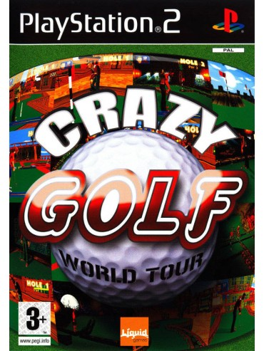 Crazy Golf World Tour ANG (używana) PS2