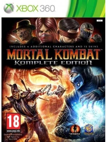 Mortal Kombat Komplete Edition ANG (używana)