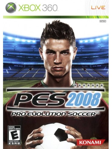 Pro Evolution Soccer 2008 ANG (używana)