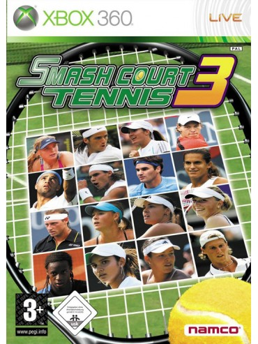 Smash Court Tennis 3 ANG (używana)