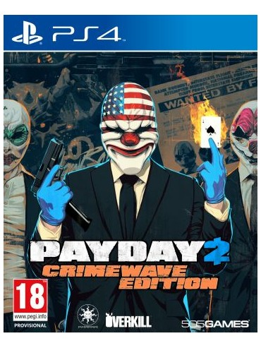 Payday 2 Crimewave Edition + BIG SCORE ANG (używana)