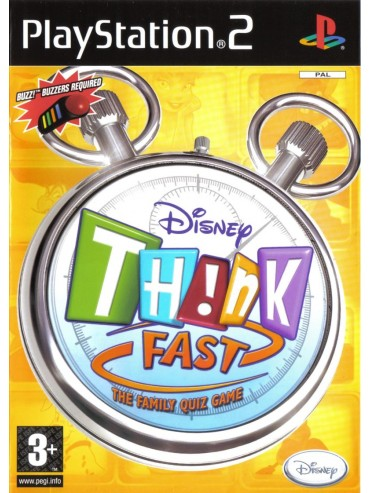 Disney TH!NK Fast ANG (używana) PS2