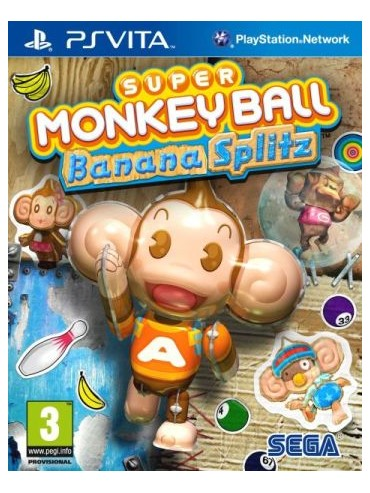 Super Monkey Ball Banana Splitz ANG (używana)