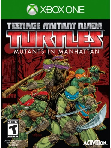 Teenage Mutant Ninja Turtles Mutants in Manhattan ANG (folia)