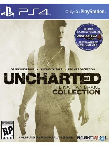 Uncharted Kolekcja Nathana Drake'a PL(dubbing) (używana) PS4/PS5