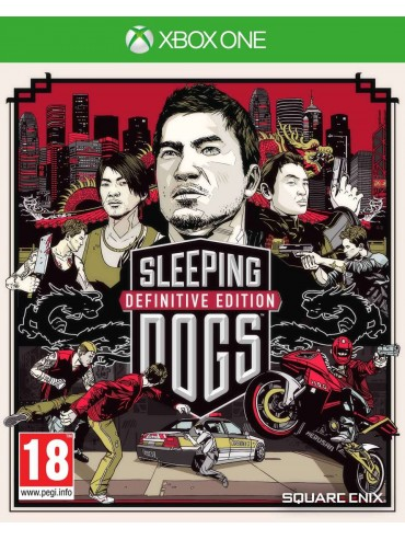 Sleeping Dogs Definitive Edition PL (używana)