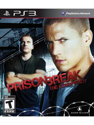 Prison BreakThe Conspiracy ANG (używana)