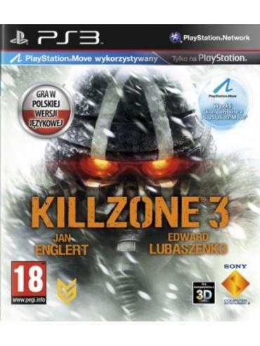 Killzone 3 PL opcjonalnie MOVE (używana)