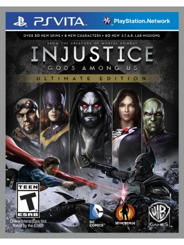 Injustice Gods Among Us Ultimate Edition PL (używana)