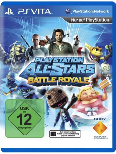 PlayStation All-Stars Battle Royale PL (używana)