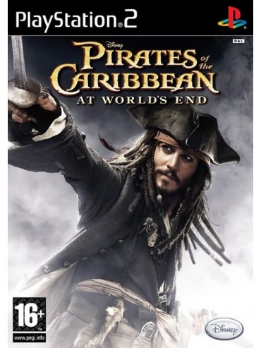 Pirates of the Caribbean At World's End ANG (używana) PS2