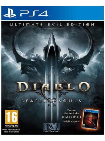 Diablo III Reaper of Souls - Ultimate Evil Edition PL (używana) PS4/PS5
