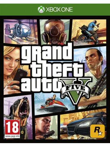 GTA V Grand Theft Auto V PL (+GTA Online) (folia)