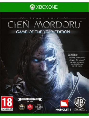 Śródziemie Cień Mordoru Game of the Year Edition PL (folia)