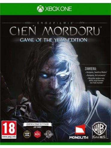 Śródziemie Cień Mordoru Game of the Year Edition PL (folia)