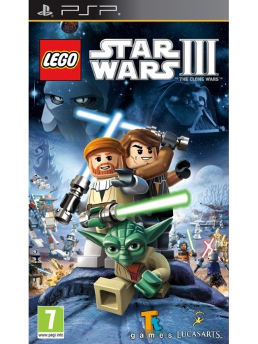 LEGO Star Wars III The Clone Wars ANG (używana)