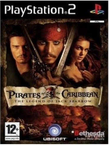 Pirates of the Caribbean The Legend of Jack Sparrow ANG PS2