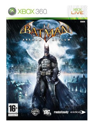Batman Arkham Asylum ANG (używana)
