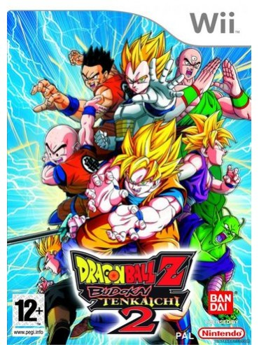 Dragon Ball Z Budokai Tenkaichi 2 ANG (używana)