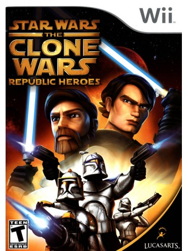 Star Wars The Clone Wars - Republic Heroes ANG (używana)