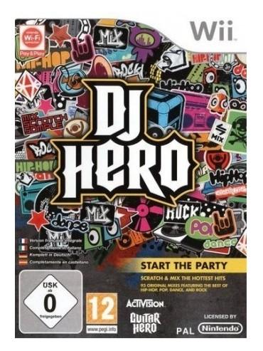 DJ Hero ANG (używana) NintendoWii
