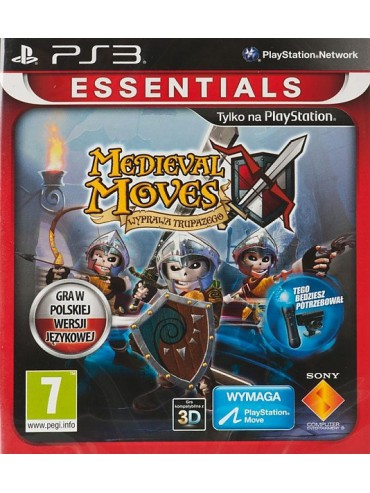 Medieval Moves Wyprawa Trupazego PL MOVE (używana)