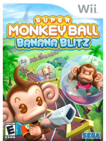 Super Monkey Ball Banana Blitz ANG (używana) NintendoWii