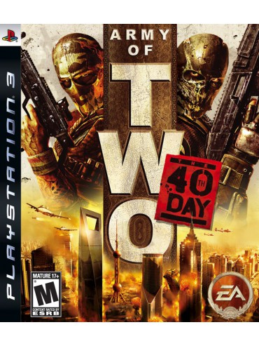 Army of Two The 40th Day ANG (używana)