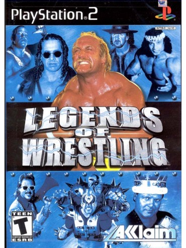 Legends of Wrestling ANG (używana) PS2