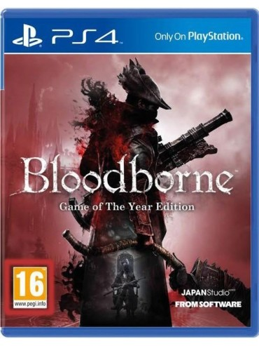 Bloodborne Game of The Year Edition PL (używana)