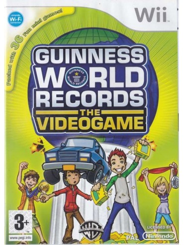 Guinness World Records ANG (używana) NintendoWii