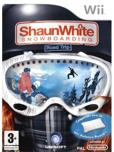 Shaun White Snowboarding Road Trip