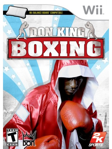 Don King Boxing ANG (używana) NintendoWii